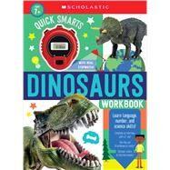 Quick Smarts Dinosaurs Workbook: Scholastic Early Learners (Workbook) by Scholastic, 9781338758634