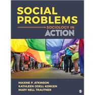 Social Problems,Atkinson, Maxine P.; Korgen,...,9781544338668