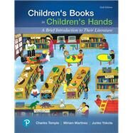 Children's Books in...,Temple, Charles A.; Martinez,...,9780134798684
