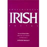 Contemporary Irish Poetry,Bradley, Anthony,9780520058743