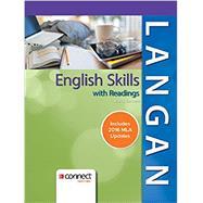 English Skills with Readings MLA 2016 Update by Langan, John; Albright, Zoe, 9781259988745