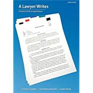 A Lawyer Writes,Coughlin, Christine; Rocklin,...,9781531008765