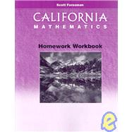 California Mathematics Homework: Grade 5 by , 9780328008797