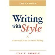 Writing with Style...,Trimble, John R.,9780205028801