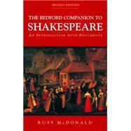 The Bedford Companion to...,McDonald, Russ,9780312248802