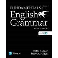 Fundamentals of English...,Azar, Betty S; Hagen, Stacy A.,9780134998817