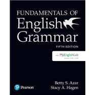 Fundamentals of English...,Azar, Betty S; Hagen, Stacy A.,9780134998824