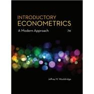 Introductory Econometrics, 7th Edition by Wooldridge, Jeffrey M., 9781337558860