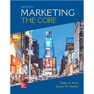 Looseleaf for Marketing: The Core by Kerin, Roger; Hartley, Steven, 9781260088861