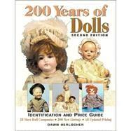 200 Years of Dolls,Herlocher, Dawn,9780873418867