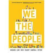 We the People (Essentials...,Ginsberg, Benjamin; Lowi,...,9780393538885