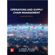 Operations and Supply Chain Management by F. Robert Jacobs, 9781260238907