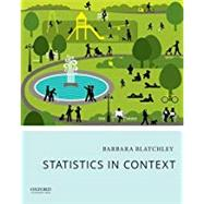 Statistics in Context,Blatchley, Barbara,9780190278953