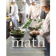 Math for the Professional...,CIA Professional Cooking &...,9780470508961