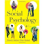 Social Psychology,Gilovich, Thomas; Keltner,...,9780393938968