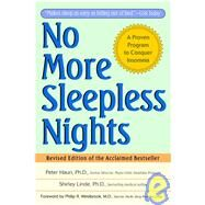 No More Sleepless Nights,Hauri, Peter; Linde, Shirley,9780471149040