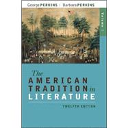 The American Tradition in...,Perkins, George; Perkins,...,9780077239046