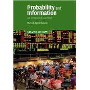 Probability and Information: An Integrated Approach by David Applebaum, 9780521899048