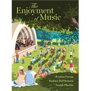 The Enjoyment of Music with...,Forney, Kristine;...,9780393639056
