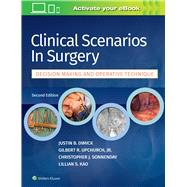 Clinical Scenarios in Surgery,Dimick, Justin B.; Upchurch,...,9781496349071