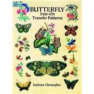 Butterfly Iron-On Transfer...,Christopher, Barbara,9780486269085