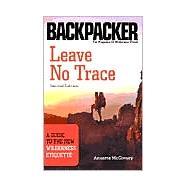 Leave No Trace,McGivney, Annette,9780898869101