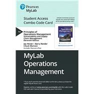 MyLab Operations Management with Pearson eText -- Combo Access Card -- for Principles of Operations Management Sustainability and Supply Chain Management by Heizer, Jay; Render, Barry; Munson, Chuck, 9780135639115