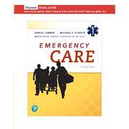 Emergency Care [RENTAL...,Limmer, Daniel,9780135379134