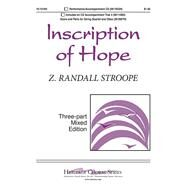 Inscription of Hope (15/1316H) by Stroope, Z Randall, 8780000139161