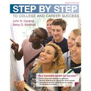Step by Step to College and...,Gardner, John N.; Barefoot,...,9781319029173