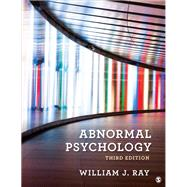 Abnormal Psychology,Ray, William J.,9781544399201