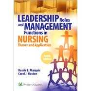 Leadership Roles and...,Marquis, Bessie L.; Huston,...,9781975139216