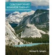 Contemporary Behavior Therapy,Spiegler, Michael D.;...,9781305269217