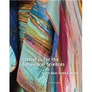 Statistics for the Behavioral...,Nolan, Susan A.; Heinzen,...,9781464109225