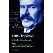 Schriften zur Theologie und Religionsphilosophie by Albrecht, Christian, 9783110209235