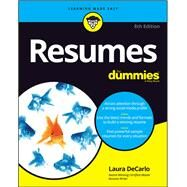 Resumes for Dummies by Decarlo, Laura, 9781119539285