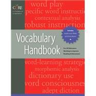 Vocabulary Handbook,Diamond, Linda Eve,9781557669285