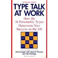 Type Talk at Work (Revised),KROEGER, OTTOTHUESEN, JANET M.,9780440509288
