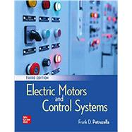 Activities Manual for Electric Motors and Control Systems by Petruzella, Frank, 9781260439380