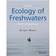 Ecology of Freshwaters,Moss, Brian R.,9781119239406