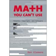 Ma+H You Can't Use by Klemens, Ben, 9780815749424