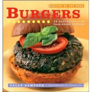Recipe of the Week: Burgers:...,Sally Sampson; Photographer: ...,9780470169445