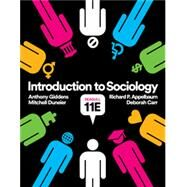 Introduction to Sociology,Giddens, Anthony; Duneier,...,9780393639452