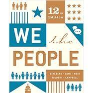 We the People,Ginsberg, Benjamin; Lowi,...,9780393679571