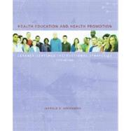 Health Education and Health Promotion: Learner-Centered Instructional Strategies by GREENBERG, 9780072319583