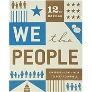 We the People,Ginsberg, Benjamin; Lowi,...,9780393679588