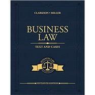 Business Law,Clarkson, Kenneth W.; Miller,...,9780357129630