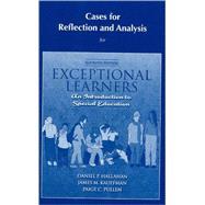 Cases for Reflection and...,HALLAHAN & KAUFFMAN,9780205609659