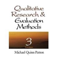 Qualitative Research &...,Michael Quinn Patton,9780761919711