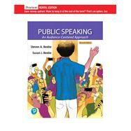 Public Speaking An...,Beebe, Steven A.; Beebe,...,9780135709719